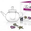 Set théière + 3 thés beauté mis en forme