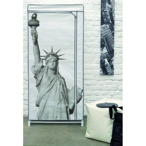 penderie souple statue de la liberte. Black Bedroom Furniture Sets. Home Design Ideas