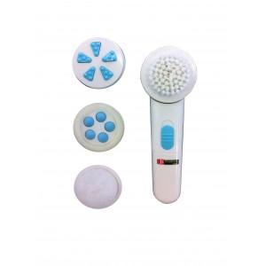 brosse rotative nettoyante exfoliante visage et corps 4 accessoires. Black Bedroom Furniture Sets. Home Design Ideas