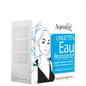 Lingettes Eau Bronzante