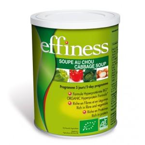 EFFINESS Soupe au choux Hyperprotéinée Bio