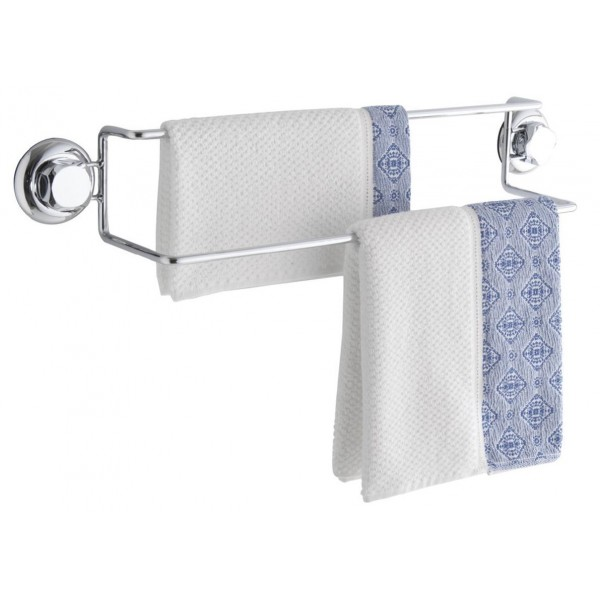 Double porte serviettes shopping vip for Rangement serviette