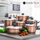 Batterie de cuisine Cook D'Lux (12 pièces)
