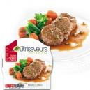 Plat cuisiné Action Starter Médaillons de bœuf au poivre doux